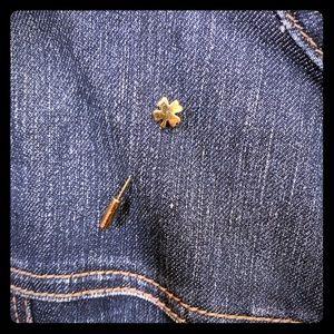 Vintage Lucky Clover Stick Pin